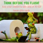 Think before you flush!