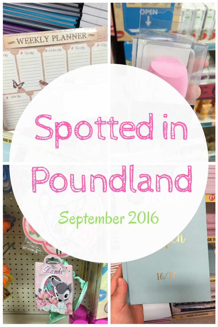 Spotted in Poundland September 2016