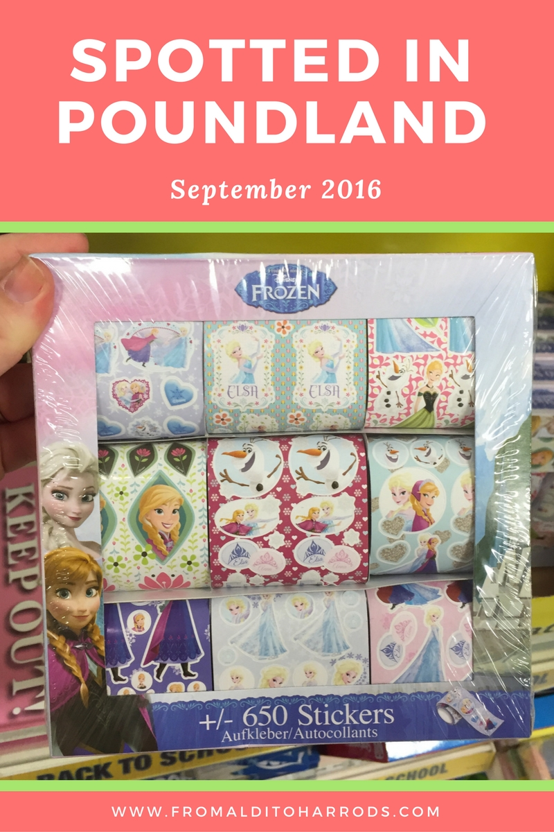 Spotted in Poundland in September 2016 06