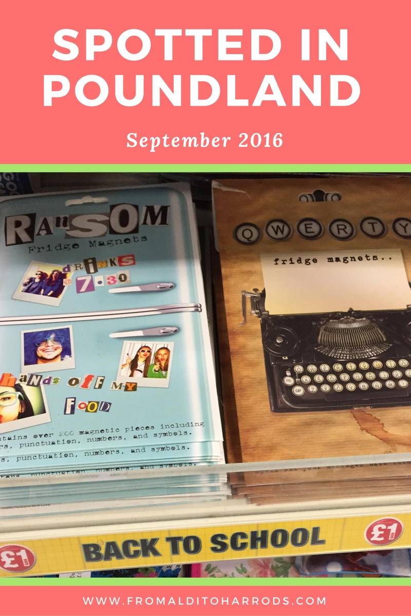 Spotted in Poundland in September 2016 08