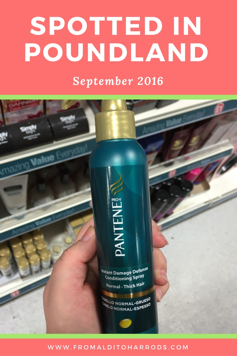 Spotted in Poundland in September 2016 17