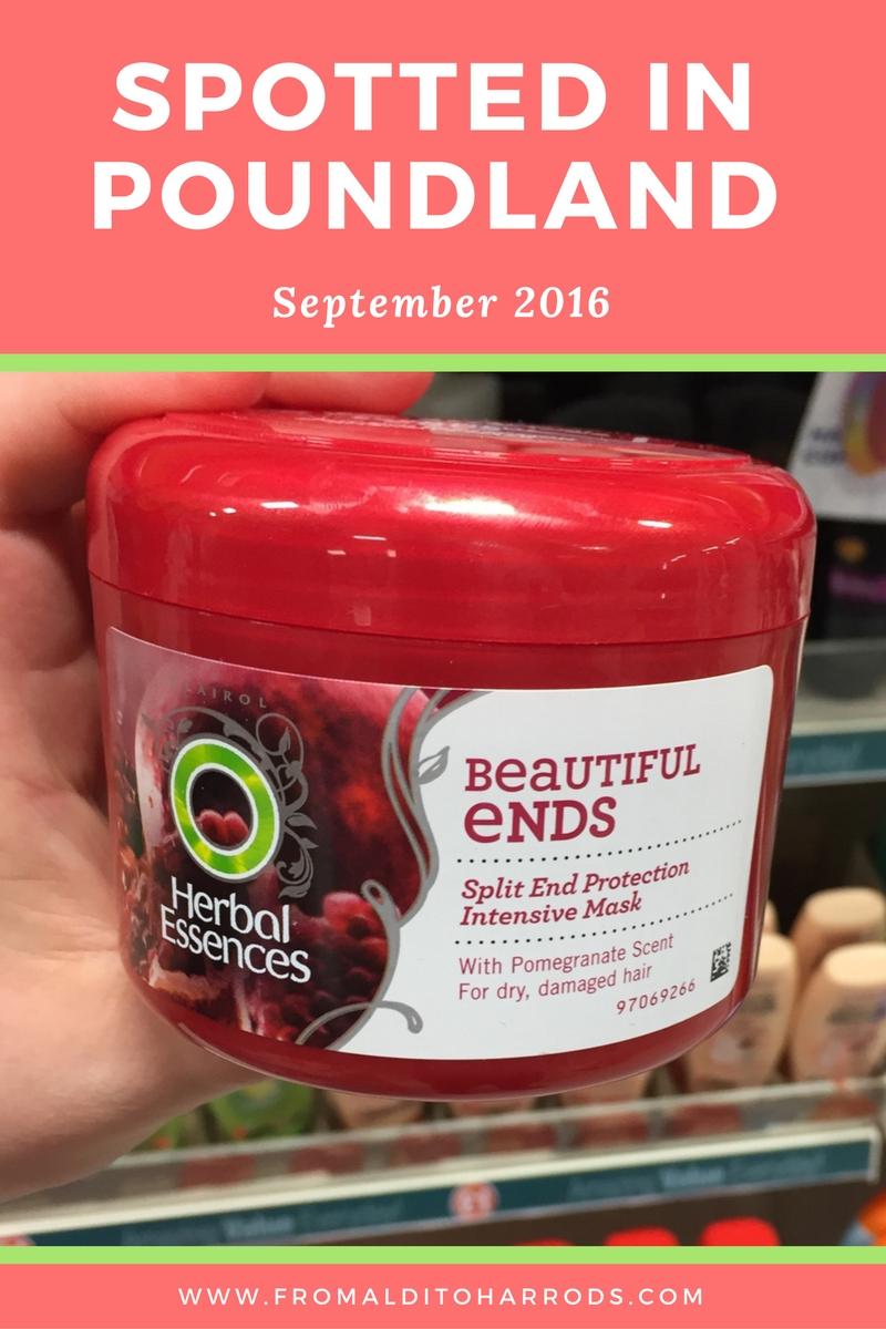 Spotted in Poundland in September 2016 18