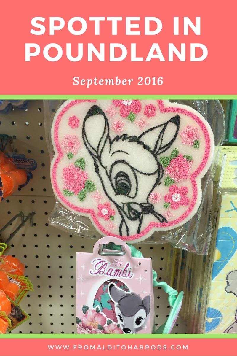 Spotted in Poundland in September 2016 19