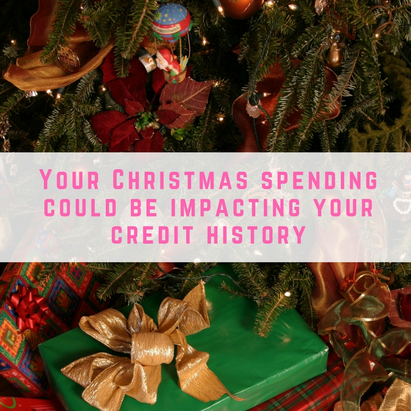 Christmas spending could be impacting your credit history