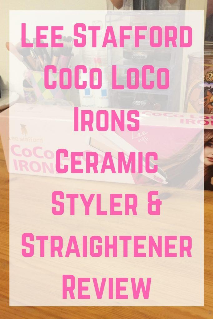 Lee Stafford Coco Loco Irons Ceramic Styler Amp Straightener