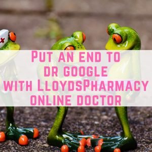 Put an end to dr google with LloydsPharmacy online doctor