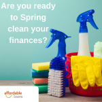 Dust off the dosh with a spending Spring Clean