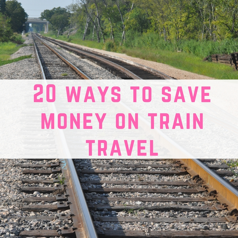 save money on train travel