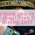 Free Disney Dining 2017