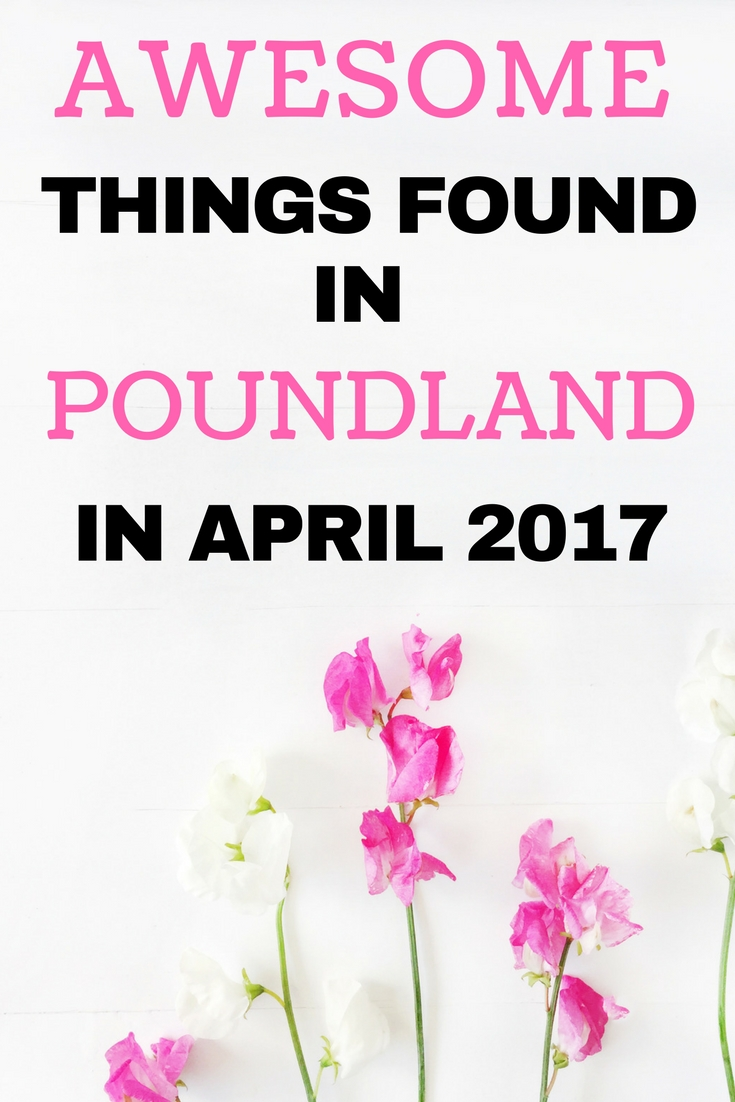 Awesome things found in Poundland in April 2017