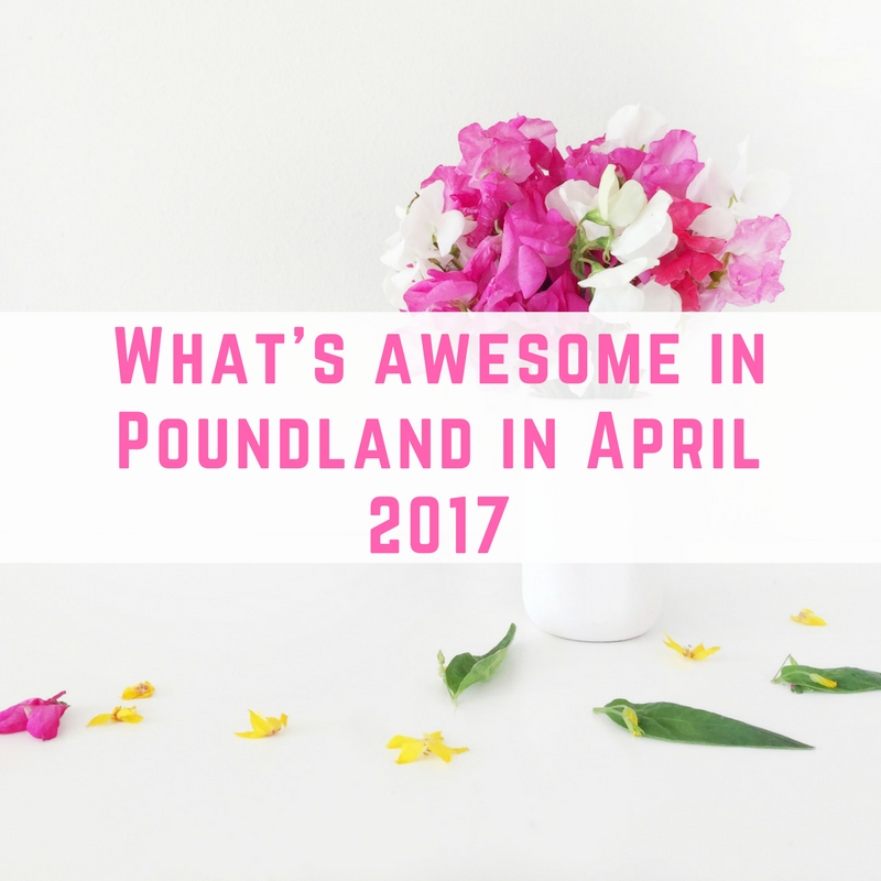 What's awesome in Poundland April 2017