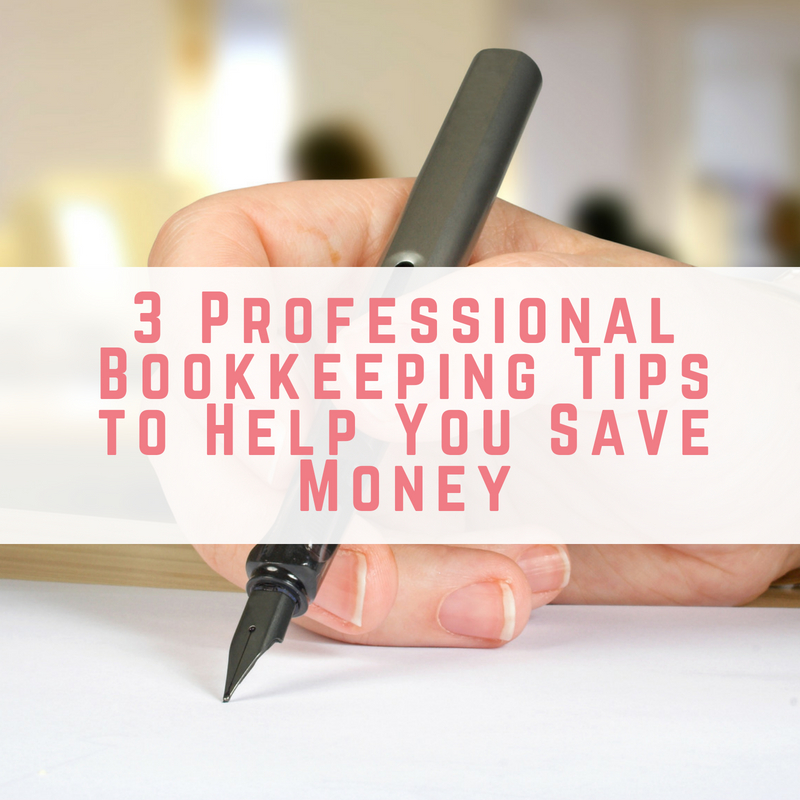 Bookkeeping Tips to Save Money
