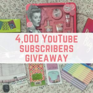 4,000 subscriber YouTube giveaway