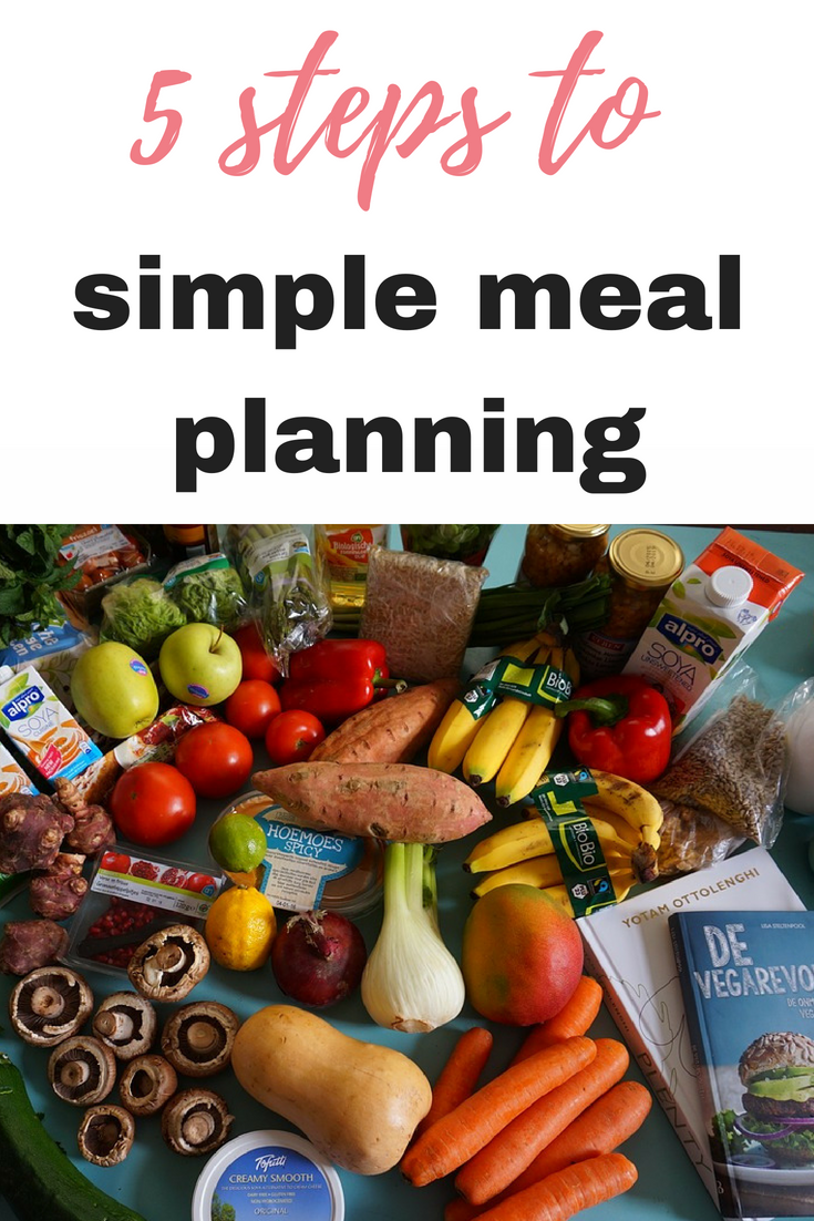 5 steps to simple meal planning by Emma at EmmaDrew.info #MealPlanning #SaveMoney #MoneySaving simple meal planning