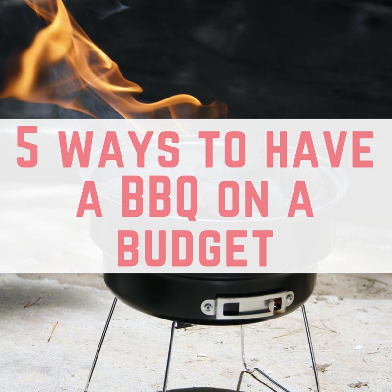 BBQ on a budget