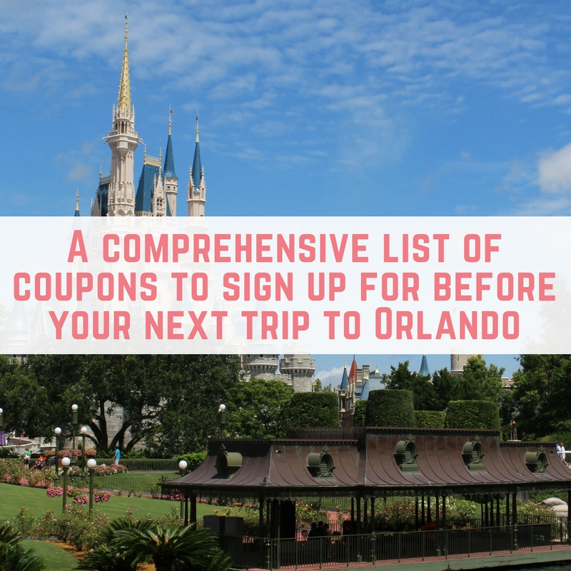save money before going to orlando