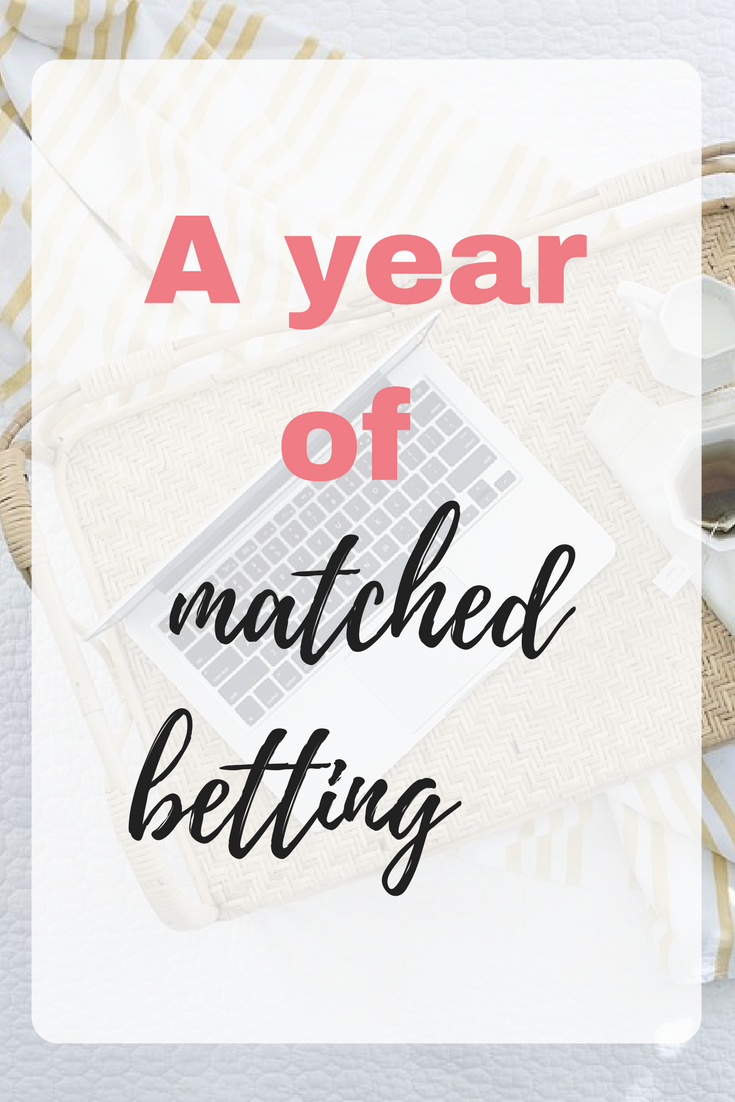 A year of matched betting. Here's what I've learned during my journey and I can't believe that I waited so long to get started at matched betting. Here's what I have learnt along the way by Emma at EmmaDrew.info. #MatchedBetting #MatchedBettingTips #MatchedBettingMoney #MakeMoney #ExtraMoney