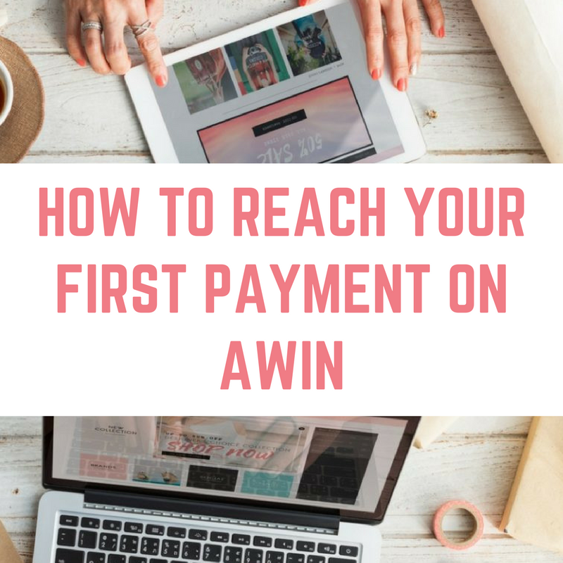 AWIN payout