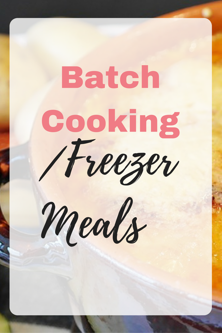 Batch Cooking_Freezer Meals Emma at EmmaDrew.info #BatchCooking #FreezerMeals