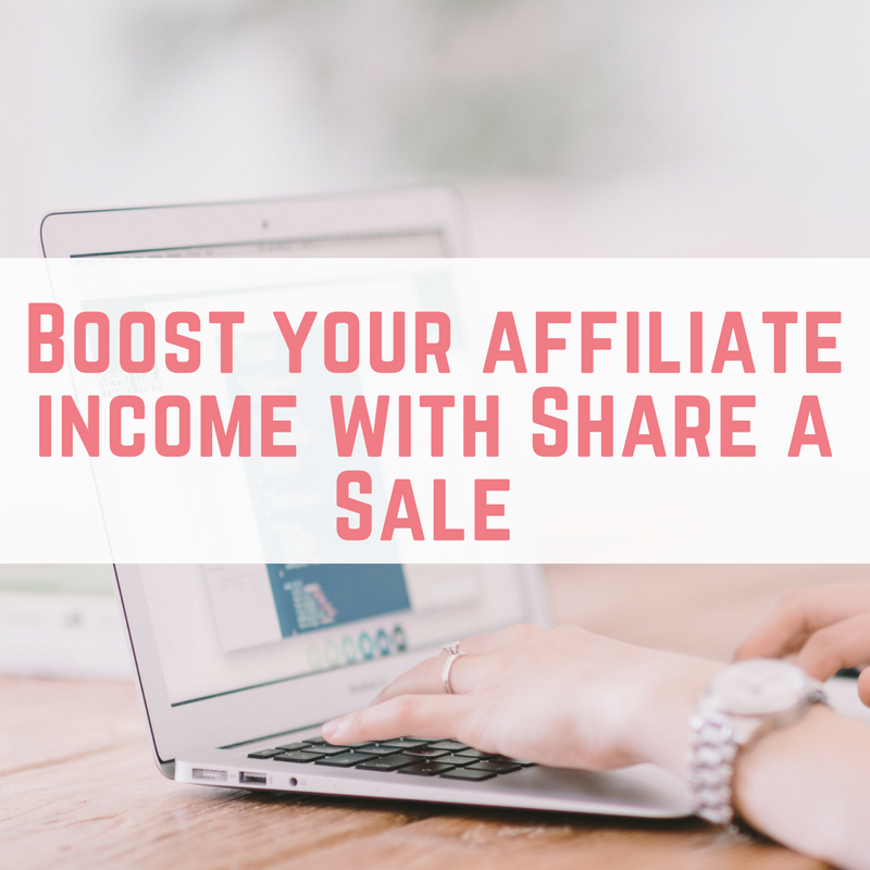 Boost your affiliate income with Share a Sale-2