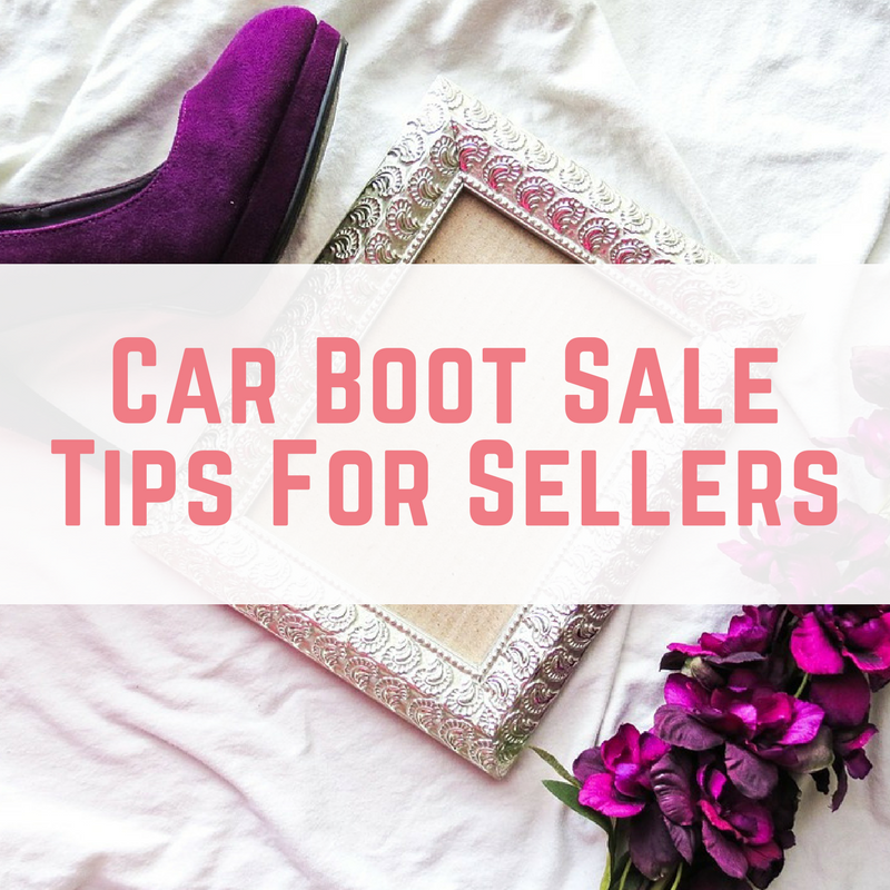 Car Boot Sale Tips For Sellers