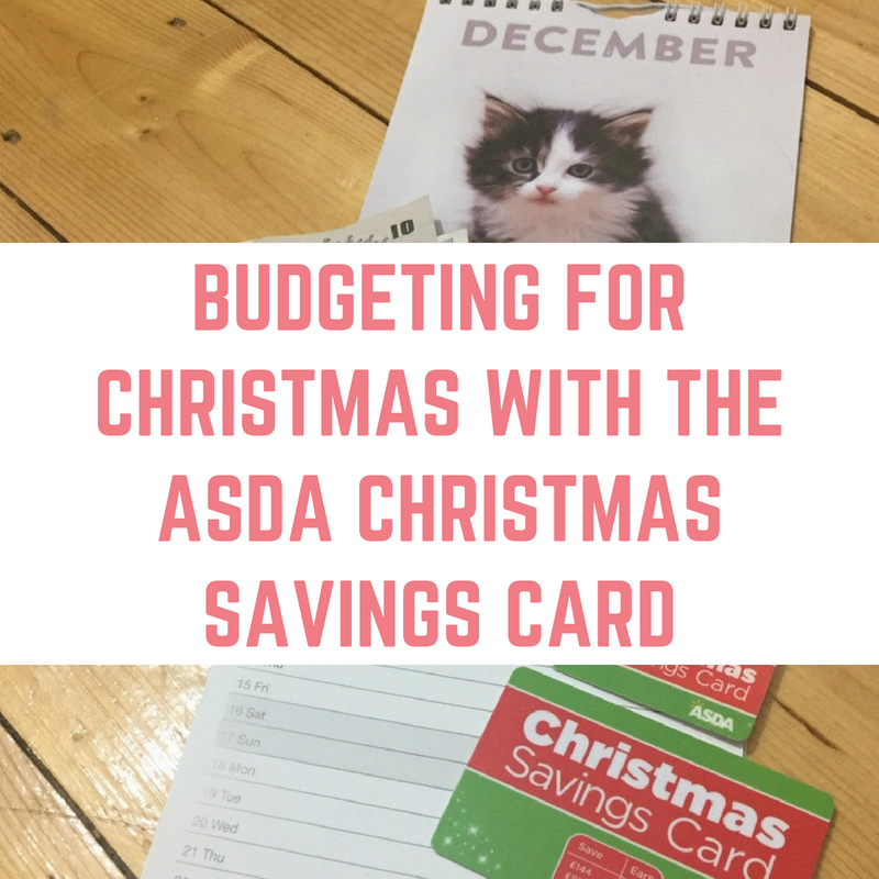 Budgeting for Christmas with the ASDA Christmas Savings Card