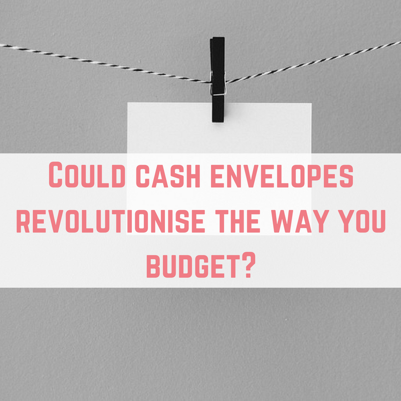 cash envelopes for budgeting