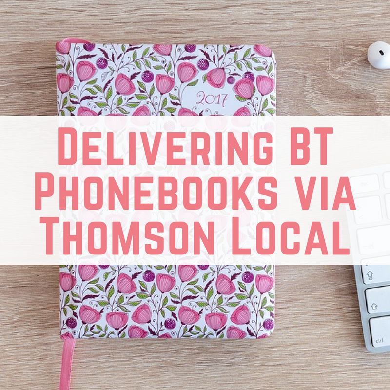 Delivering BT Phonebooks via Thomson Local