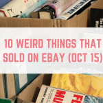 10 Weird Things That Sold on eBay in October 2015