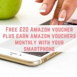 Get a £20 Amazon voucher & £10 every month after
