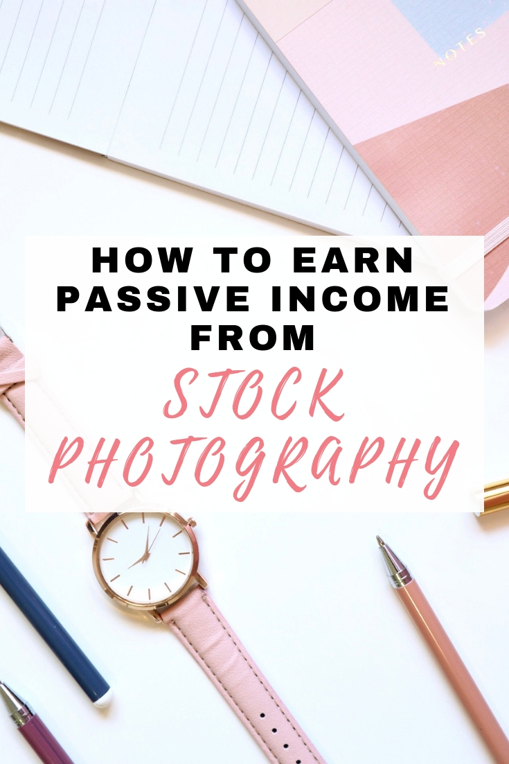 income from stock photography