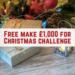 Make £1,000 for Christmas Challenge