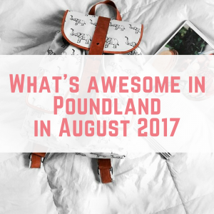 What's Awesome in Poundland in August 2017