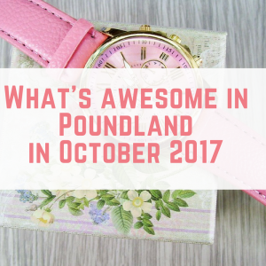 What's Awesome in Poundland in October 2017