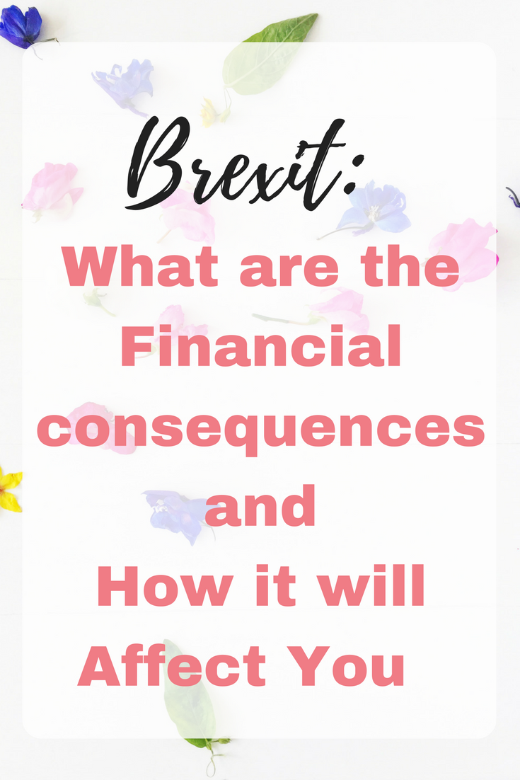 Financial consequences after Brexit
