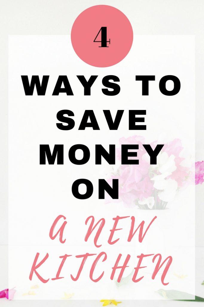 Save Money on a New Kitchen