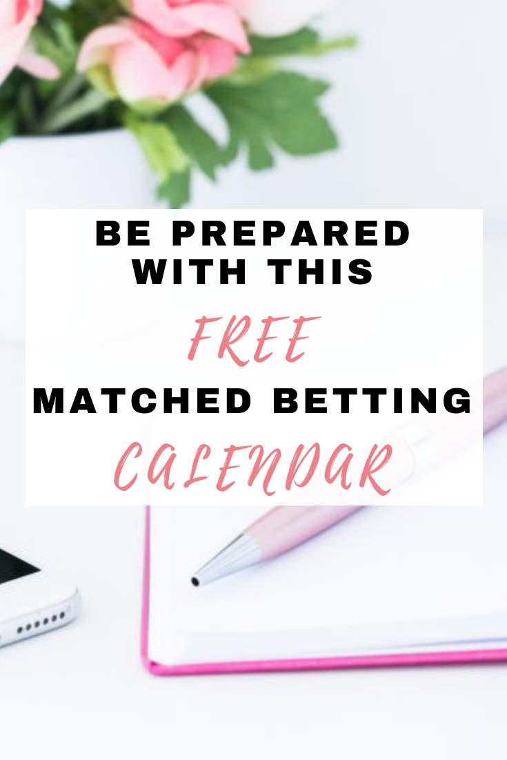 Free Matched Betting Calendar