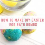 How To Make DIY Easter Egg Bath Bombs