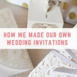 Our thoughts on making your own wedding invitations