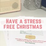 Have a stress free Christmas with this Christmas planner