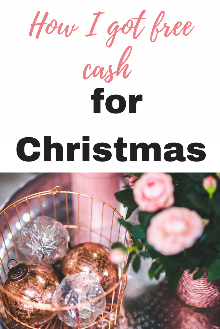 How I got free cash for christmas