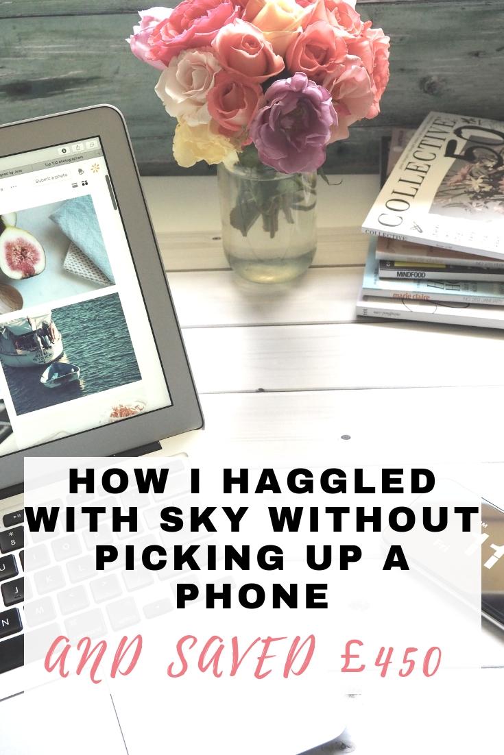 haggle with sky