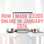 January 2016 online income report
