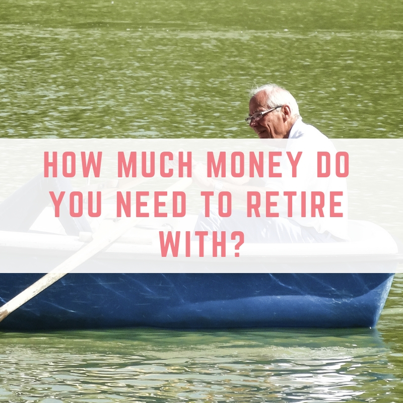 How much money do you need to retire with?
