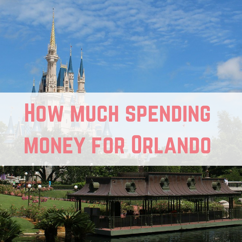How much spending money for Orlando