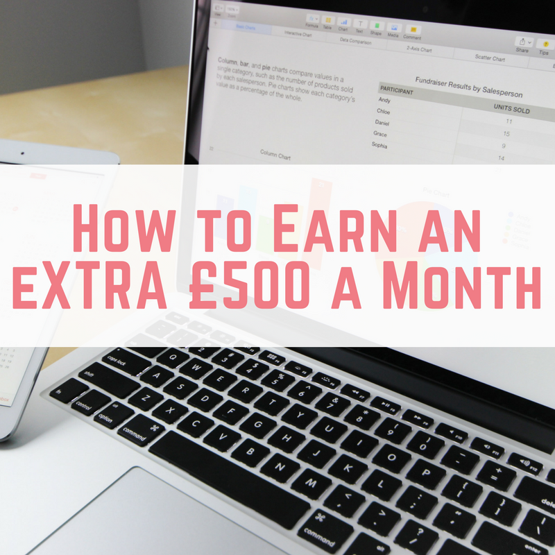 earn £500 a month