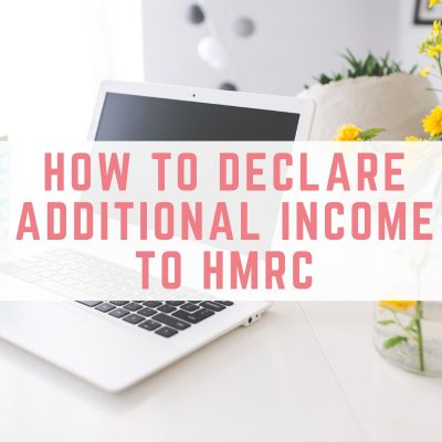 How to declare additional income to HMRC