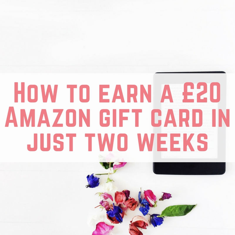 How to earn a free Amazon gift card in just two weeks - EmmaDrew.Info