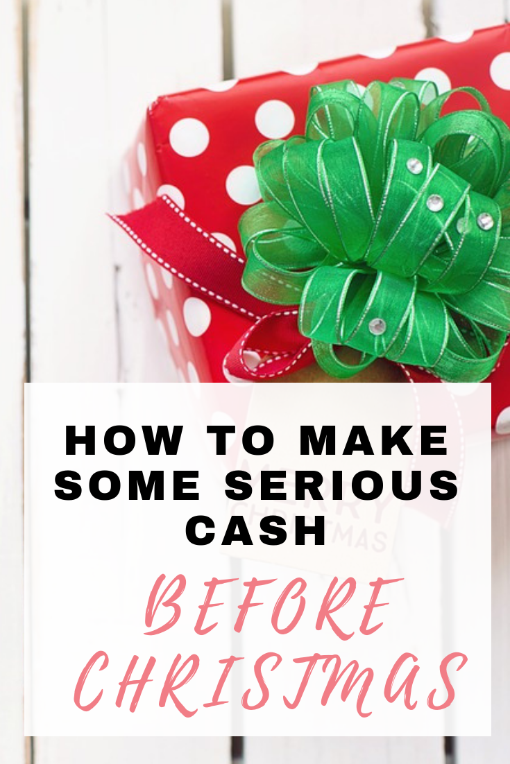 With Christmas fast approaching, many of us are looking at ways to make Christmas more affordable. Here are some easy ways you can make money from home by Emma at EmmaDrew.info #MakeMoney #EarnMoney #MakeMoneyFromHome