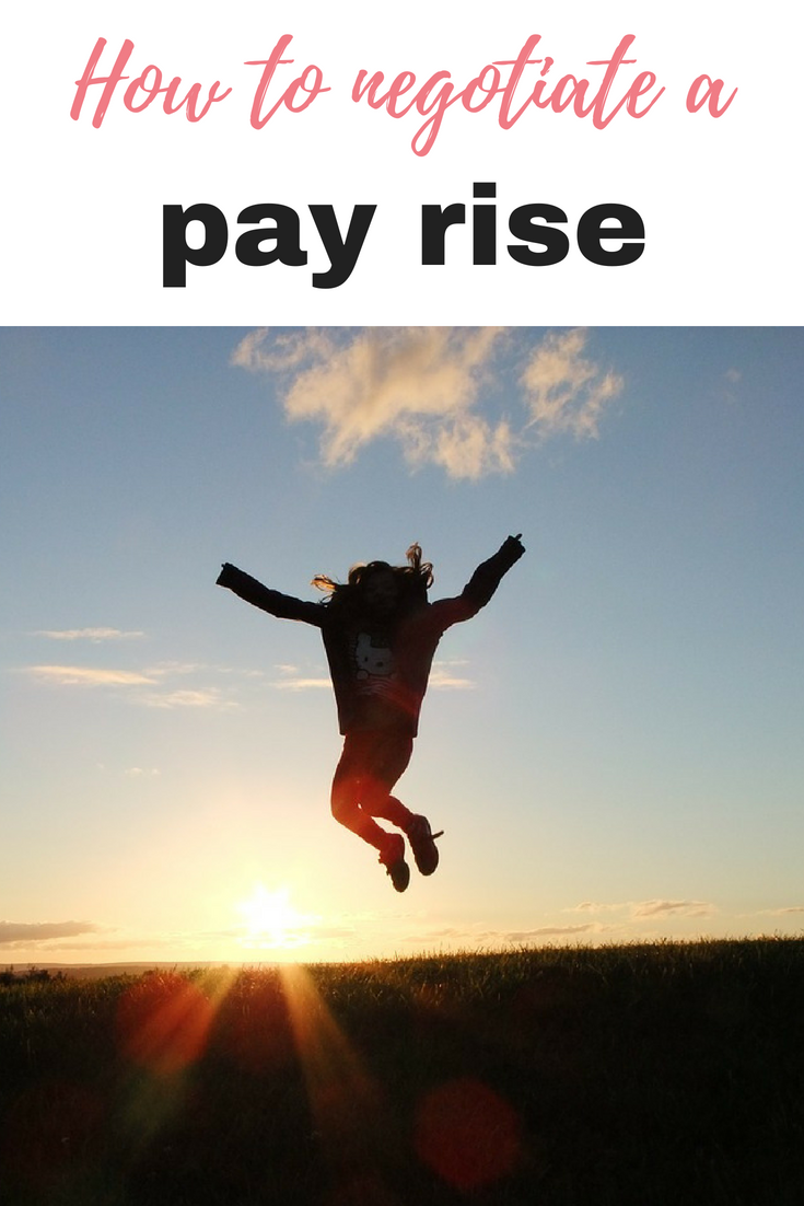 This is how to negotiate a pay rise. Whether you have been at your current place of work for a while, or are starting a new job- there is money to be made by Emma at emmadrew.info #MakeMoney #EarnMoney #PayRisee
